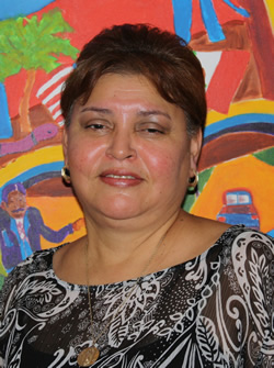 Ms. Dora Maria V. Medina posing for a picture