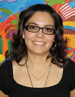 Ms. Paola Villarreal smiles for a picture