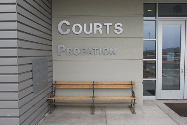 Courts/Probation entrance
